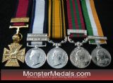 FULL SIZE BRITISH CAMPAIGN MEDALS 1799-1914 MEDALS